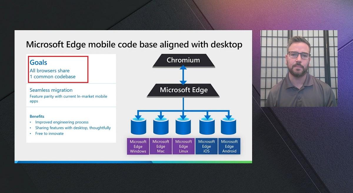 Microsoft to unify the Edge Desktop and Edge Mobile code base