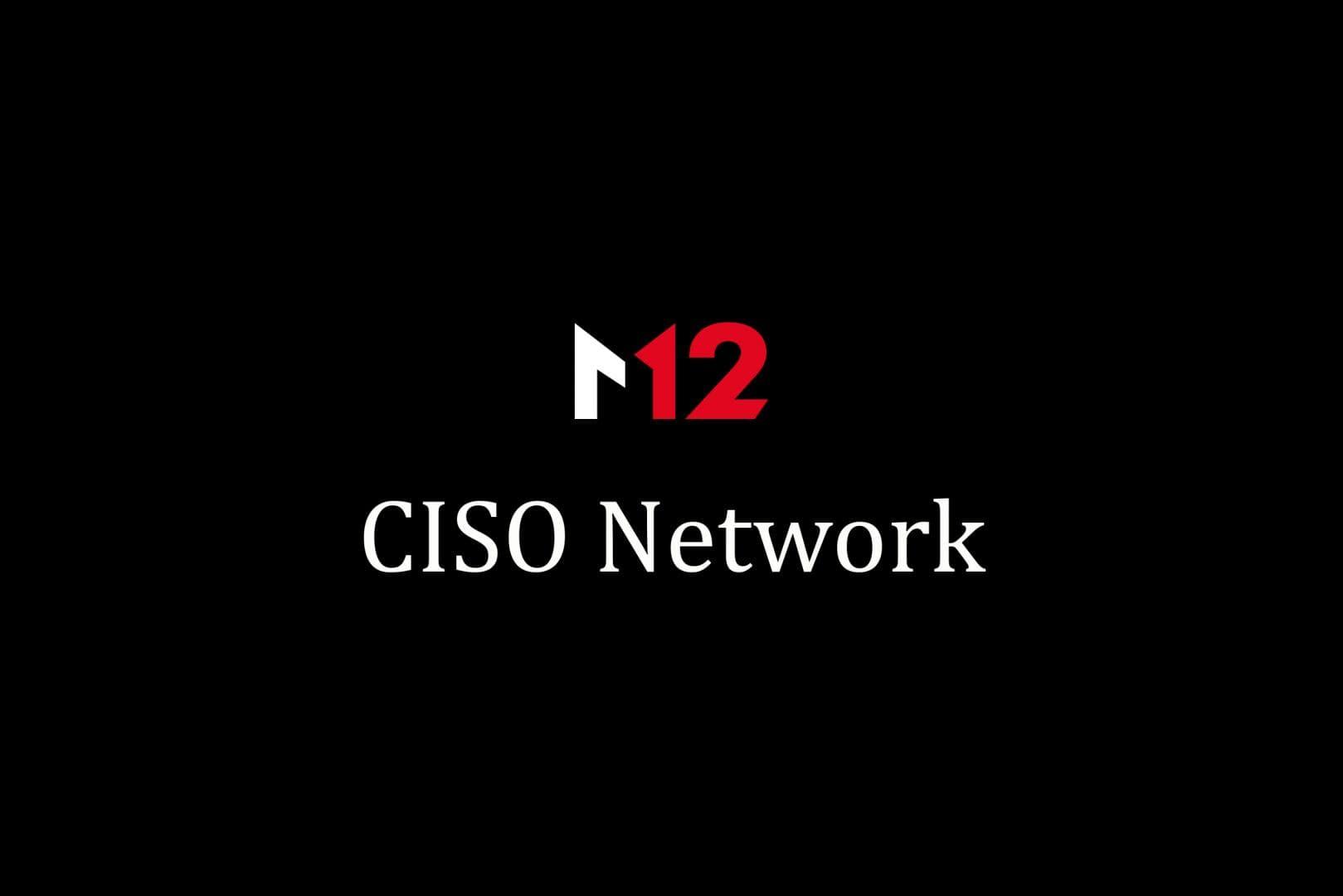 Microsoft M12 CISO Network