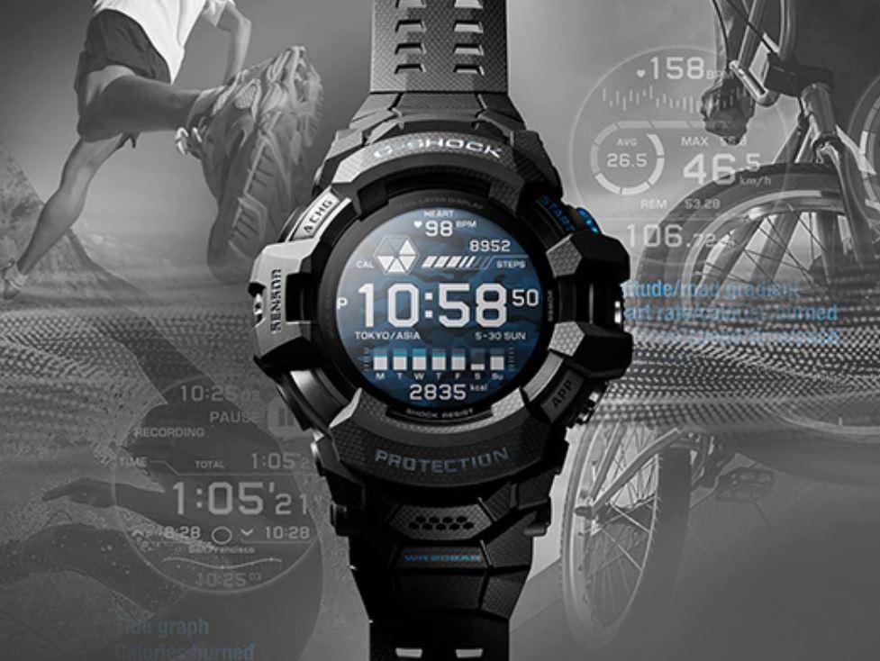 Casio WearOS watch