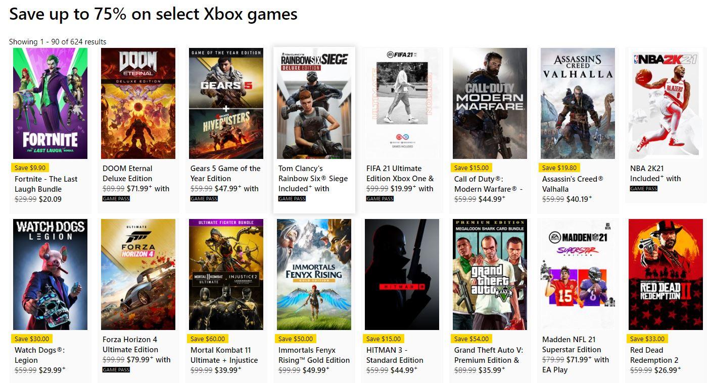 Microsoft Store'un İlkbahar İndirimi, yüzlerce Xbox ve PC oyunu, film, uygulama ve daha fazlası için fırsat sunuyor