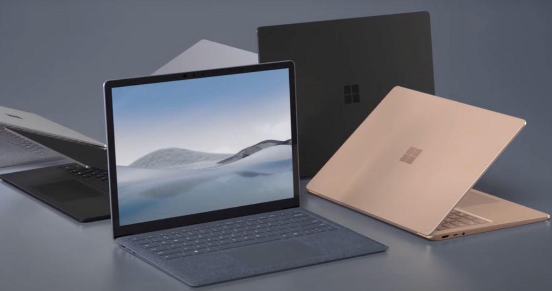 Microsoft Surface Laptop 4 new