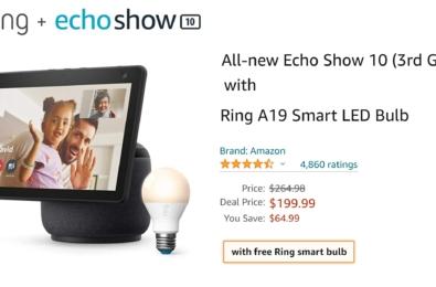 echo show 10 deal