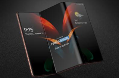 samsung galaxy z fold tablet