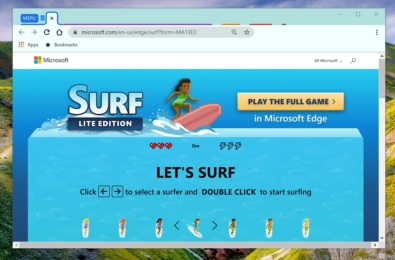 surf game chrome