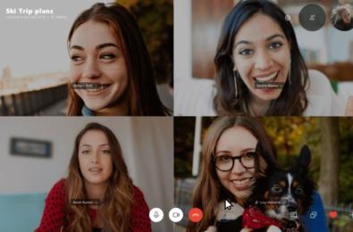 Microsoft Skype Background Blur