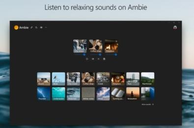 Microsoft Store Ambie App