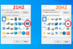 Microsoft Windows 10 new icons