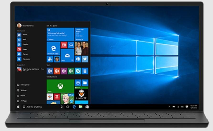 Microsoft Windows 10 new