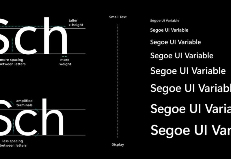 Microsoft Windows Segoe UI font