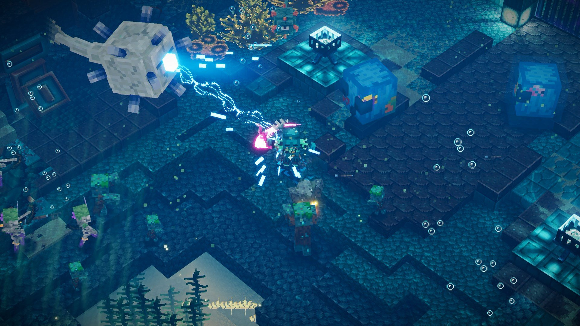 Minecraft Dungeons: Filtradas capturas de su nuevo DLC - Minecraft Dungeons sacará su nuevo DLC muy pronto y algunas imágenes del mismo acaban de ser filtradas.