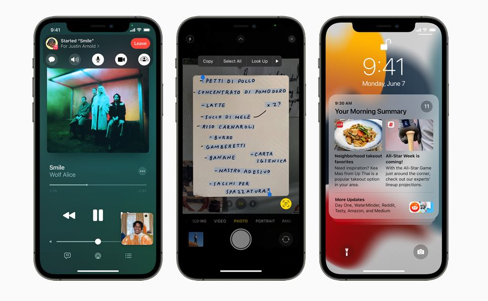 Apple iOS 15 beta