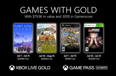 Games with Gold July
