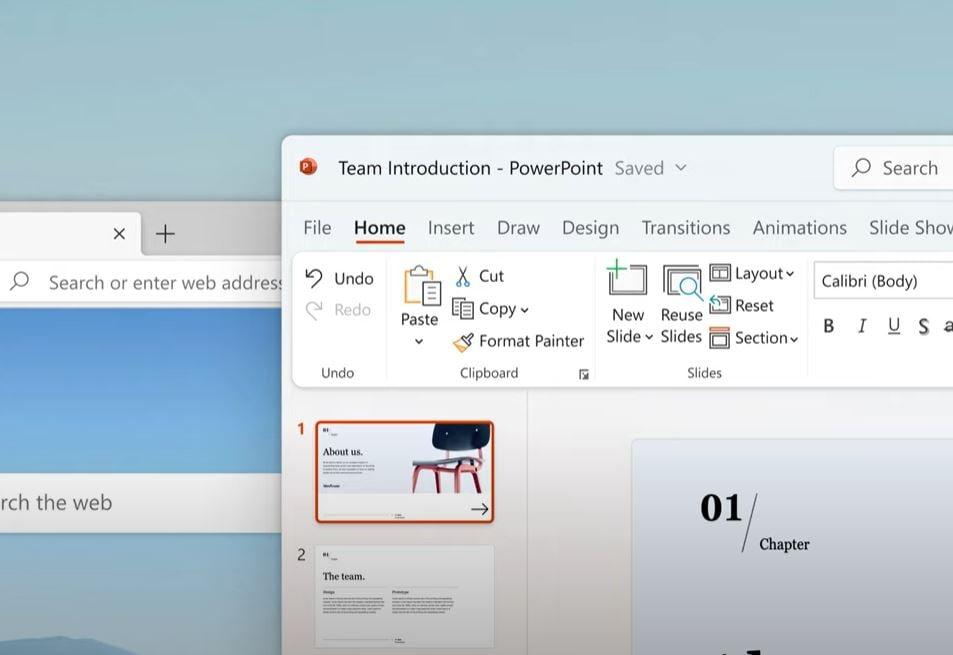 Microsoft Office Fluent Design