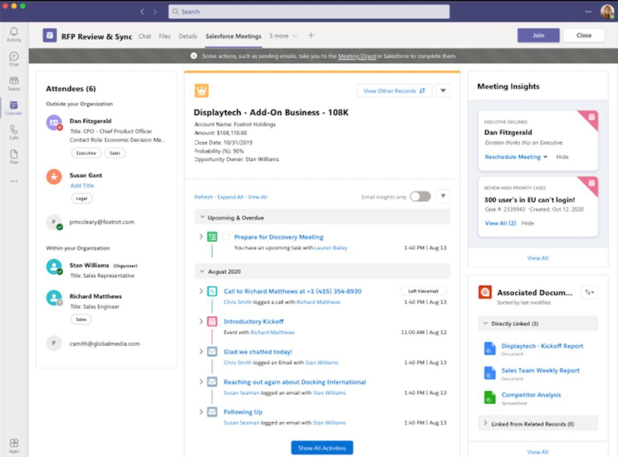 Microsoft Teams Salesforce