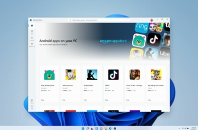 Microsoft Windows 11 Android apps