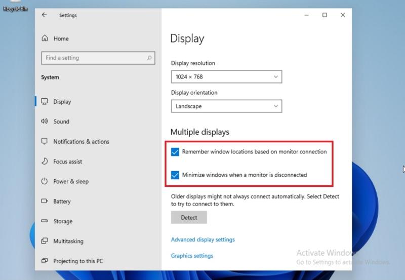 multiple monitor windows 11