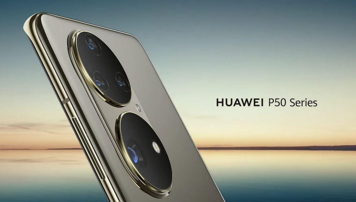 Huawei P50 series smartphones