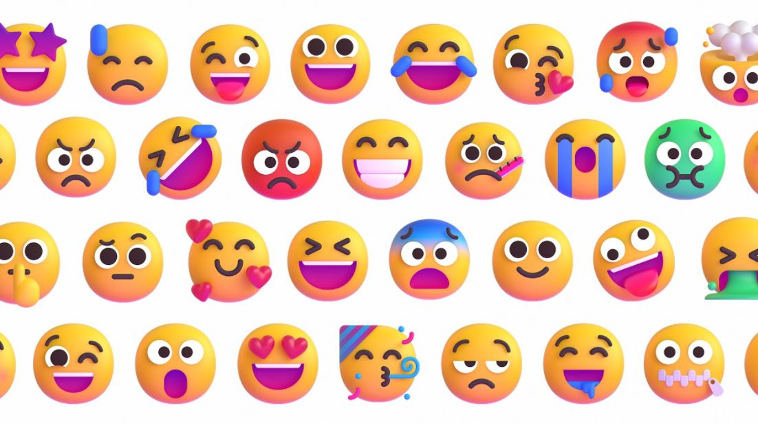 Microsoft Emojis Fluent