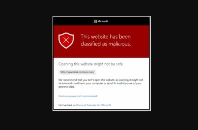 Microsoft Teams Safe Links Phishing Protection