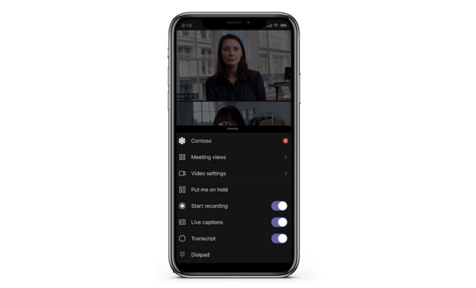 Microsoft Teams mobile apps