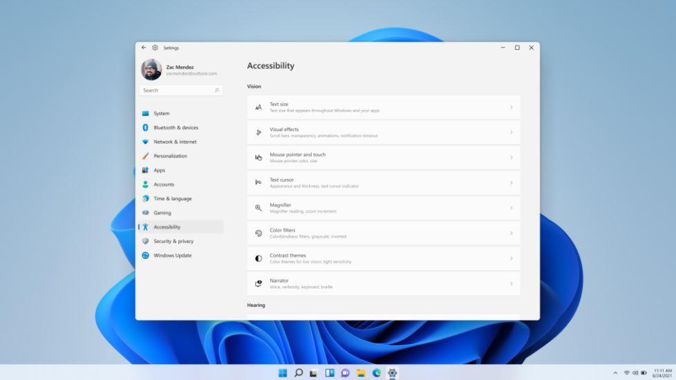 Microsoft Windows 11 Accessibility
