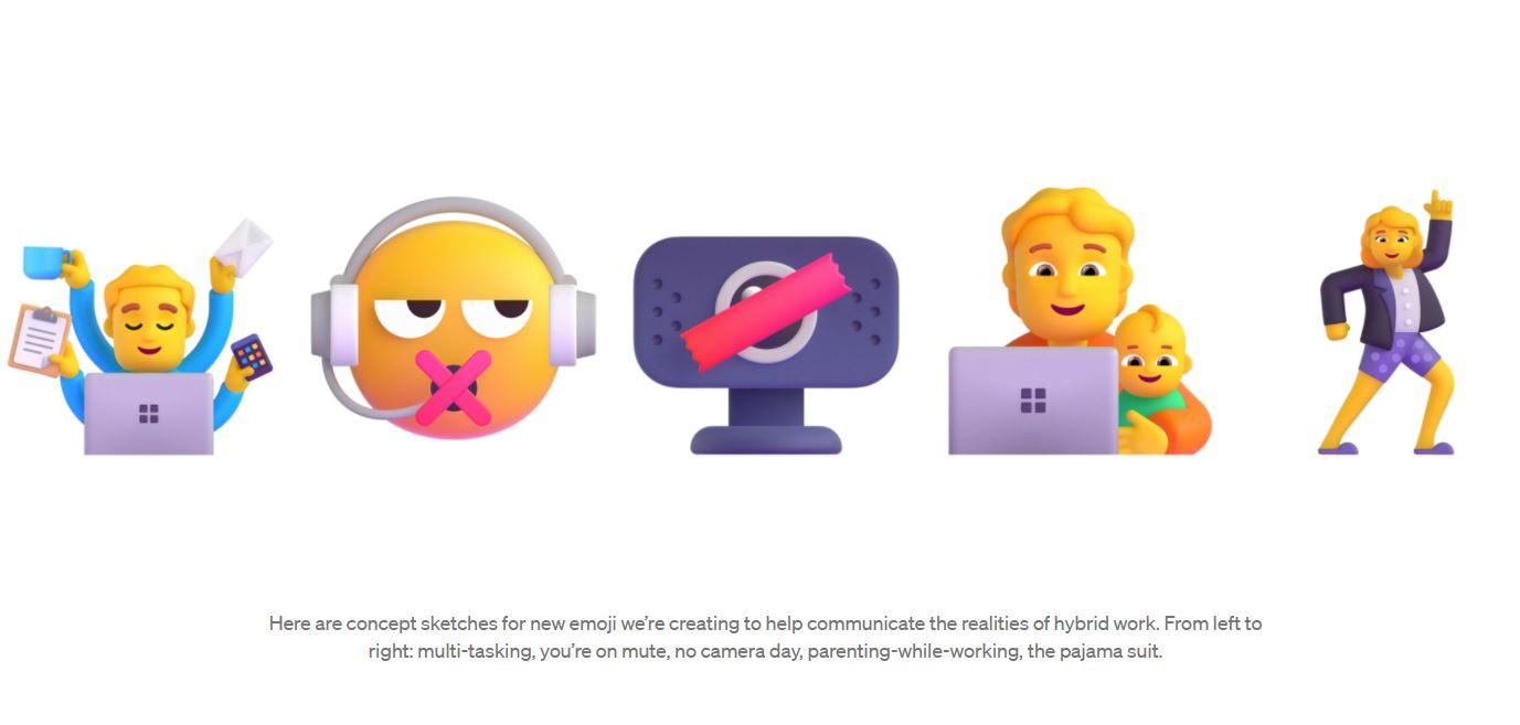 Microsoft new emojis