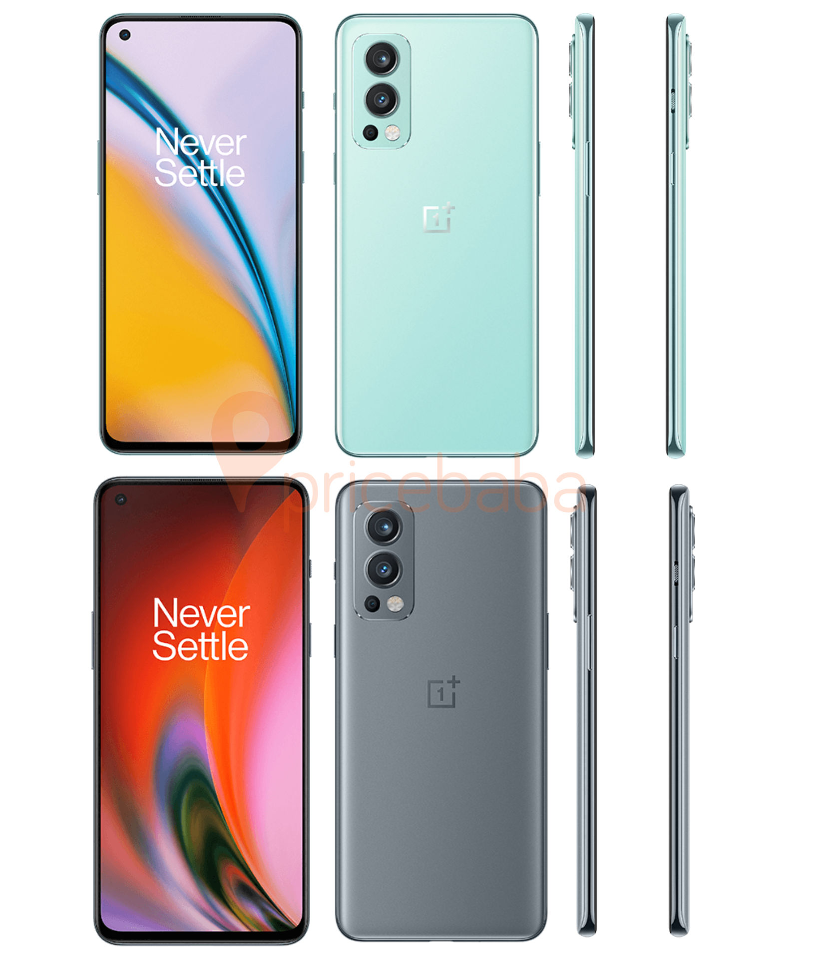 OnePlus Nord 2 official render