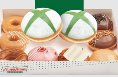 Xbox Doughnuts Krispy Kreme