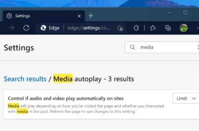 media autoplay