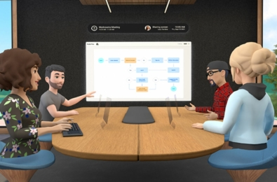 Facebook Workrooms Oculus