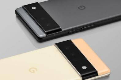Google Pixel 6 and Pixel 6 Pro official render