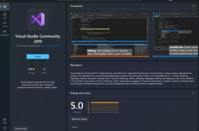 Microsoft Visual Studio Community 2019