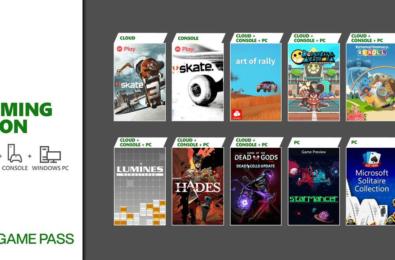 Xbox Game Pass Aug