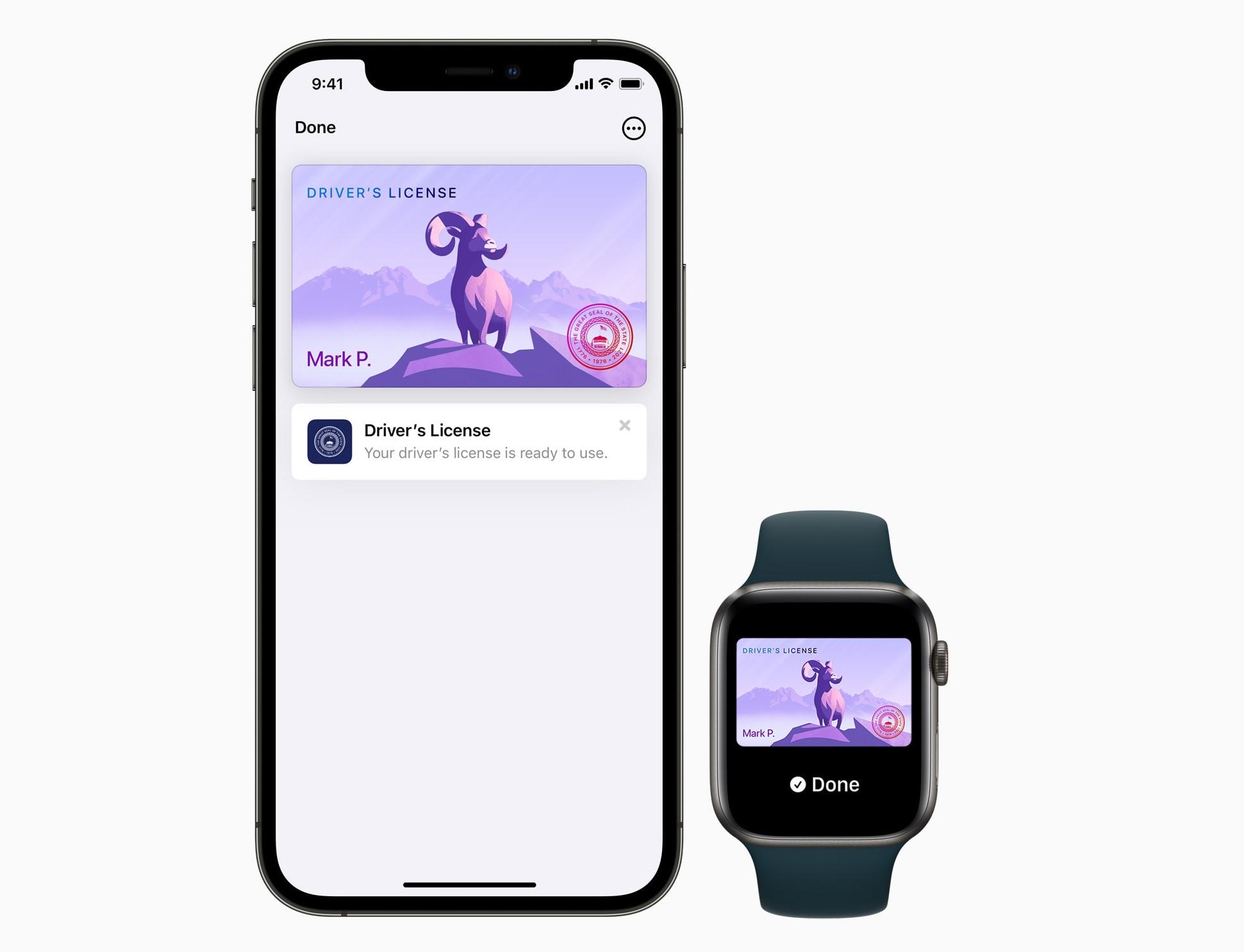 Apple Wallet IDs