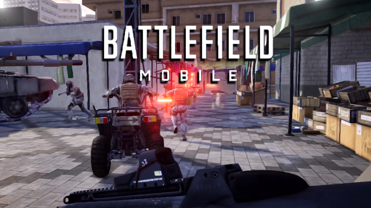 Battlefield Mobile appears on the Google Play Store
