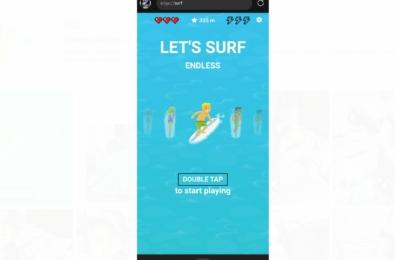 Microsoft Edge Surf browser
