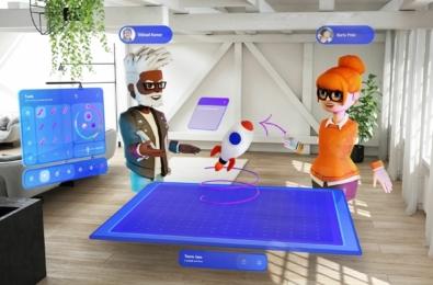 Microsoft Mesh app for HoloLens 2
