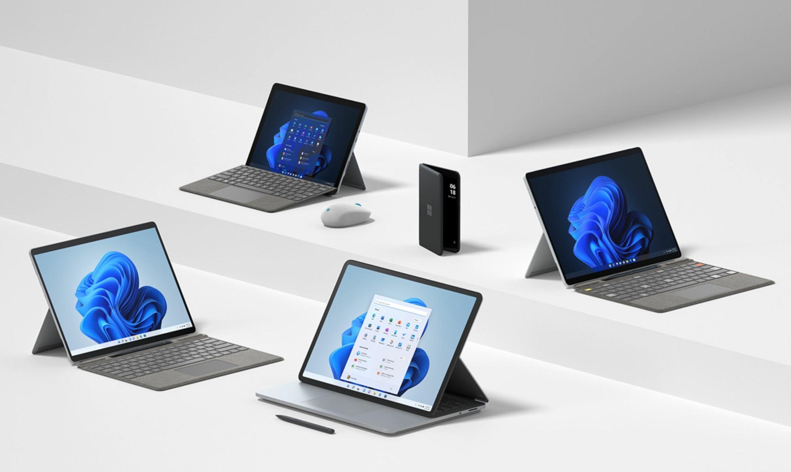 Microsoft Surface family