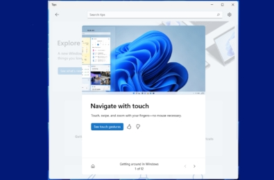 Microsoft Windows 11 Tips app