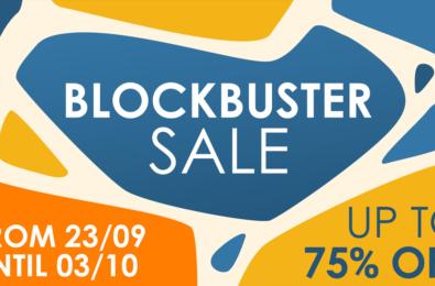 Nintendo Switch Blockbuster Sale