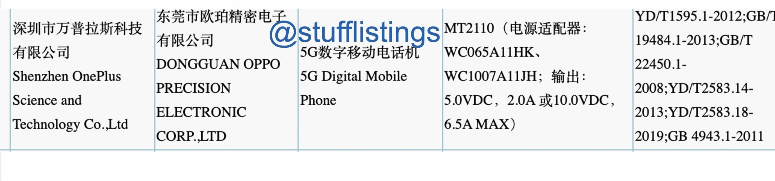 OnePlus 9 RT 3C