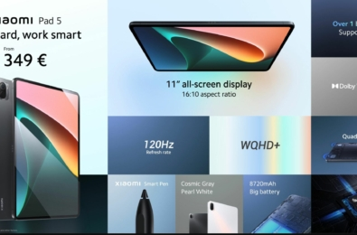 Xiaomi Pad 5 Android tablet