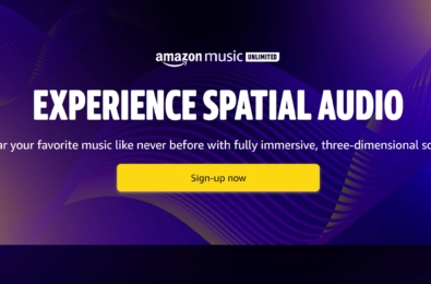 Amazon music spatial audio