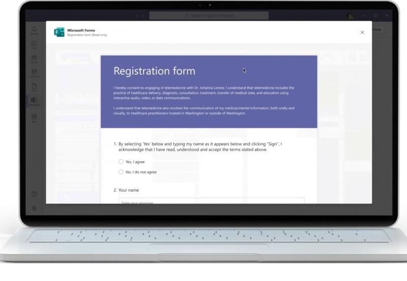 Microsoft Teams Forms