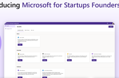 Microsoft for Startups Founders Hub