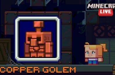 Minecraft Copper Golem