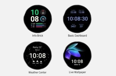 Samsung Galaxy Watch4 update
