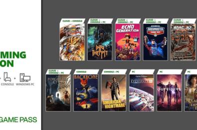 Xbox Game Pass October