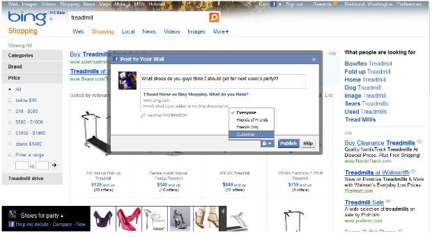 Microsoft Announces Deeper Facebook Integration In Bing ...