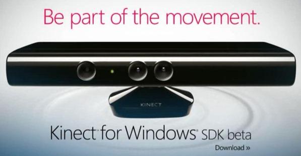 kinect for windows SDK